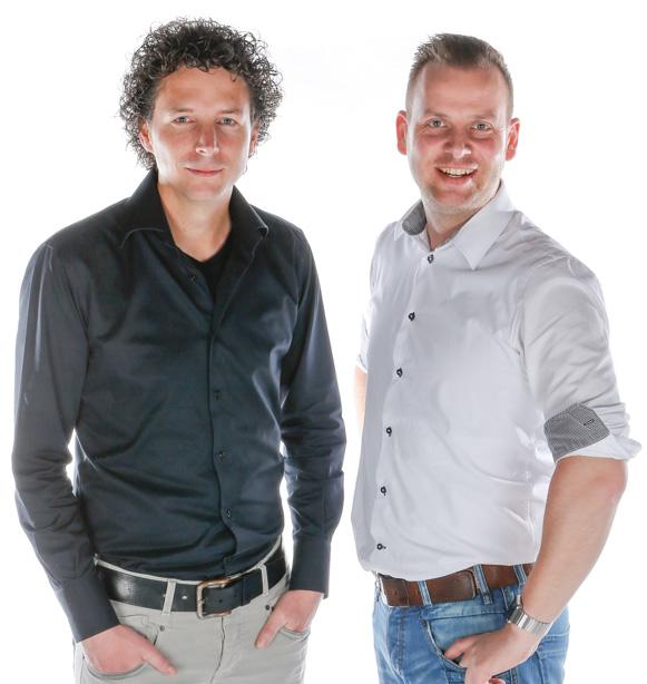 Oprichters De Naobers Bas Hommelink & Bart Wopereis